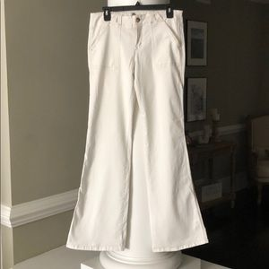 Level 99 Wide Leg White Pants